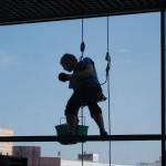 10 Высотный клининг  Мойка стекол