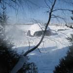10 монтаж геокупола(зима)