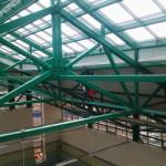 11 Обеспыливание поверхности металлоконструкции