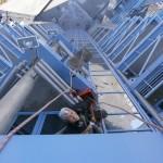13 Высотный клининг повышенной сложности