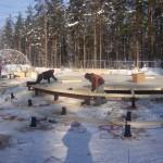 17 монтаж геокупола(зима)