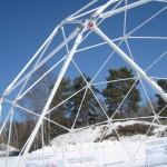 19 монтаж геокупола(зима)