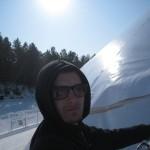 21 монтаж геокупола(зима)