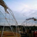 4 монтаж геокупола(лето)