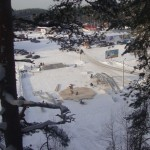 8 монтаж геокупола(зима)